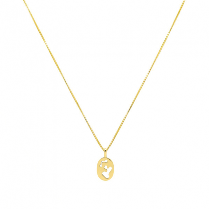 Jean Arp Necklace Goldplated