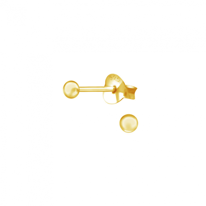 Tiny ball studs 2.5mm