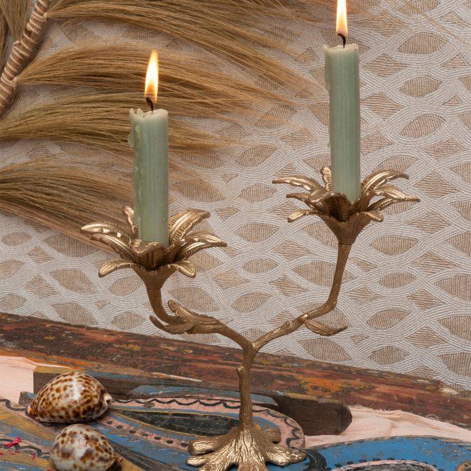 Palash Palm Multi Candle Holder