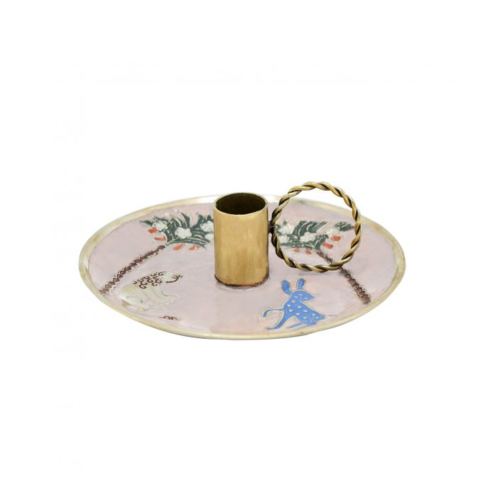 Dainty Lion Bunny Candle Holder