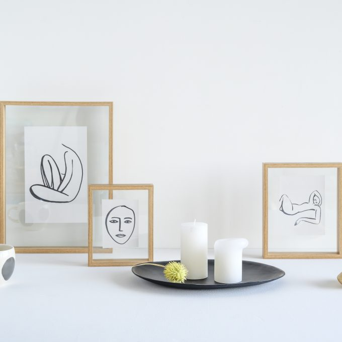 Floating Frame Small - Neutral