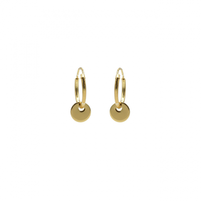 Discus Small Goldplated