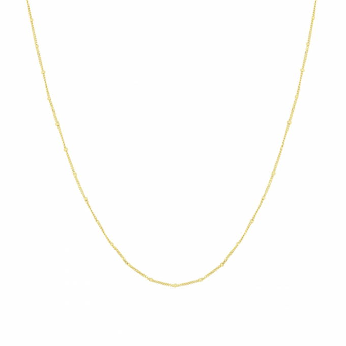 Dotted Necklace Goldplated