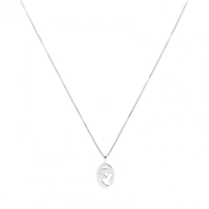 Jean Arp Necklace Silver