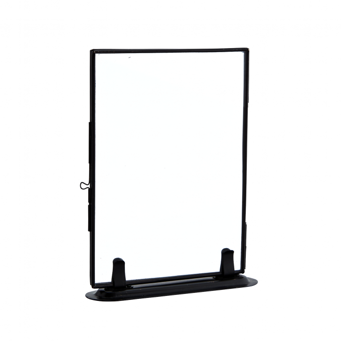 photo frame stand black