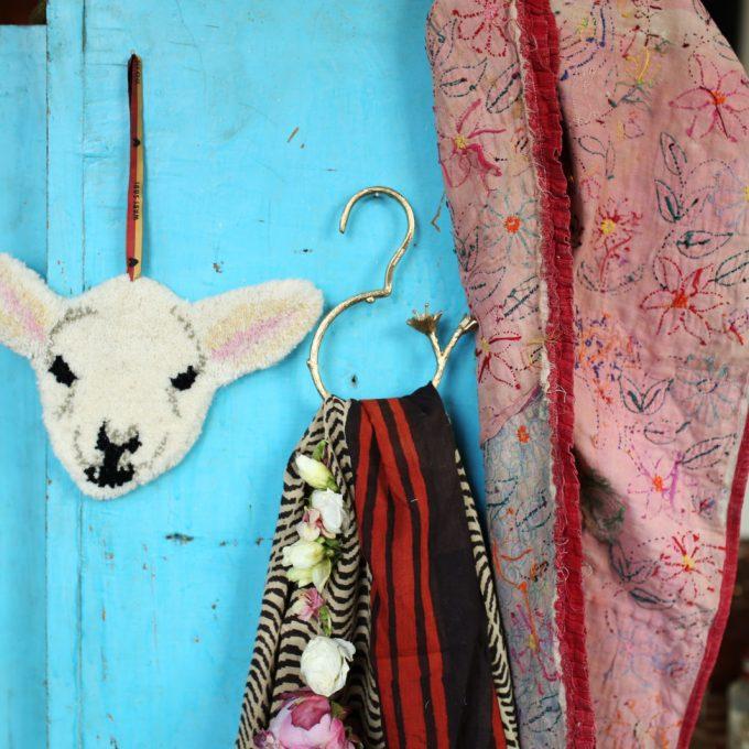Woolly Lamb Gift Hanger