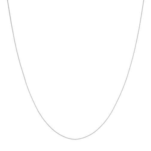 Curb Necklace Silver
