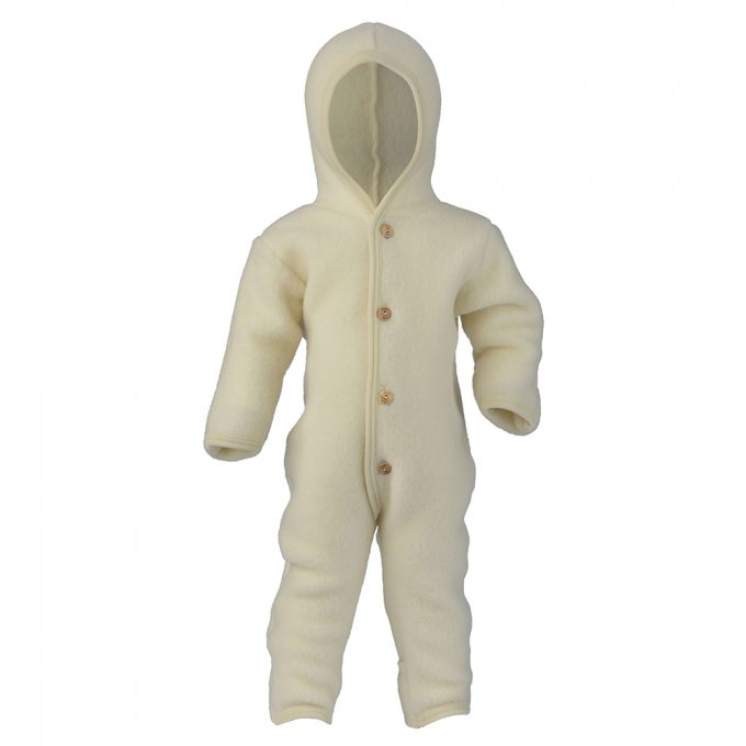 Hooded Overall Engel wit