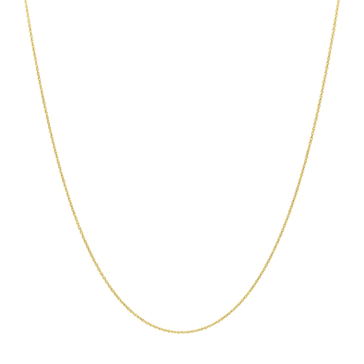 Twisted Necklace Goldplated