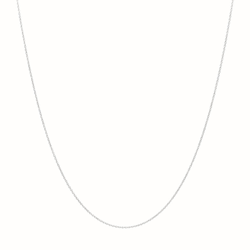 Twisted Necklace Silver