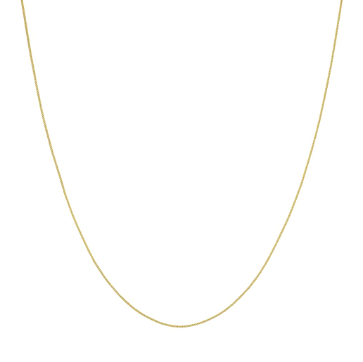 Curb Necklace Goldplated