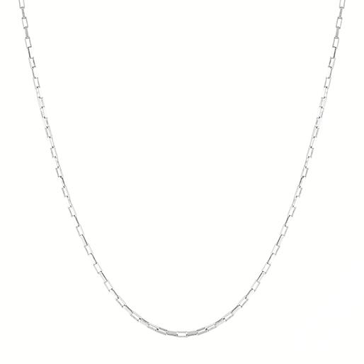 Zinnia Necklace Silver