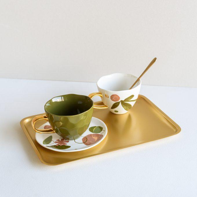 good morning cup fir green