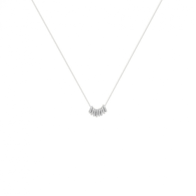 Connected Necklace Silver