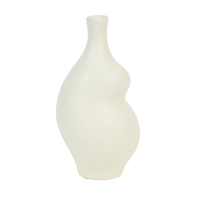 vase off white silhouette