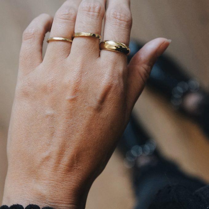 Melba Ring Brass 2mm