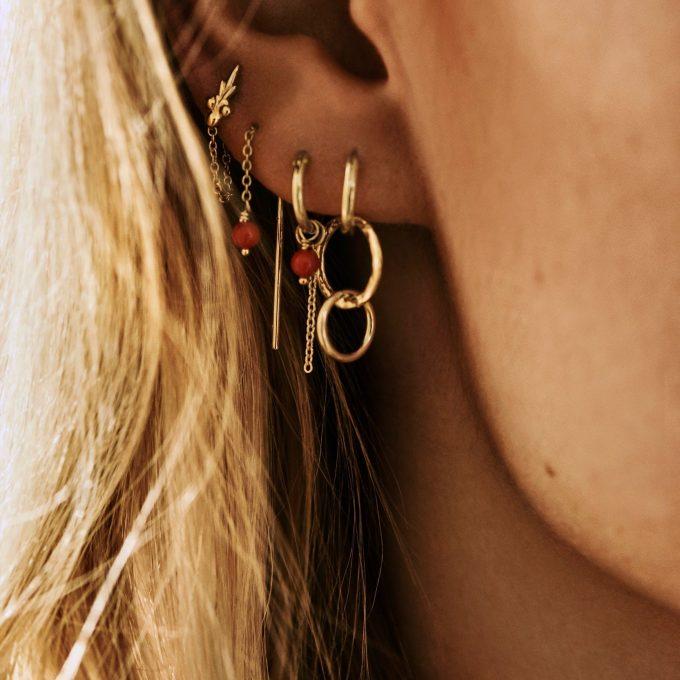Eden Chain Earring Goldplated
