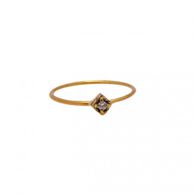 Dreamer Ring Brass