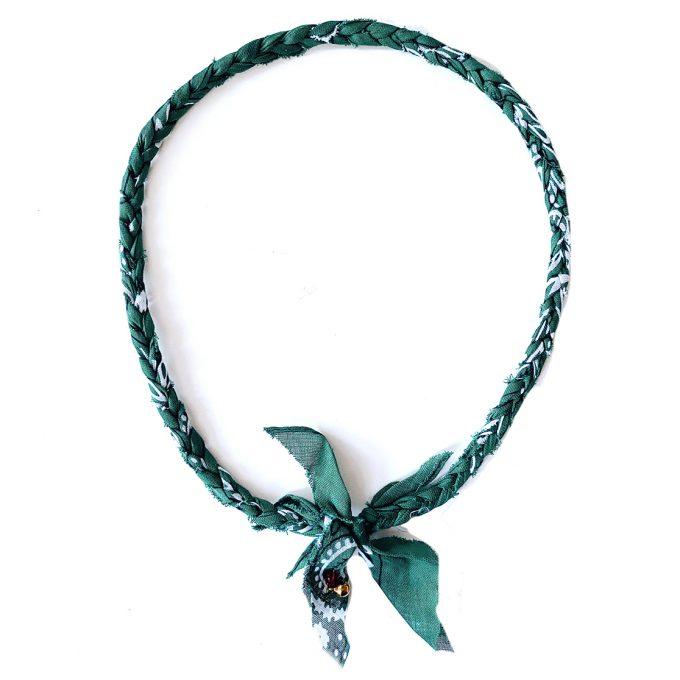 Jetteke van Lexmond bandana necklace