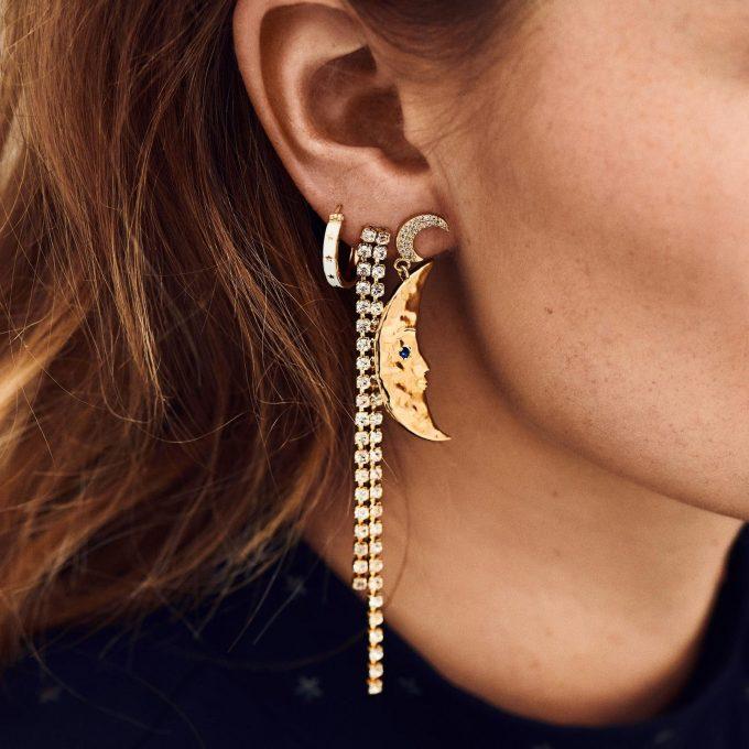 Raindrop Earrings Goldplated