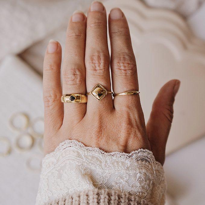 Ringen Brass Moonloft Gouden Ringen