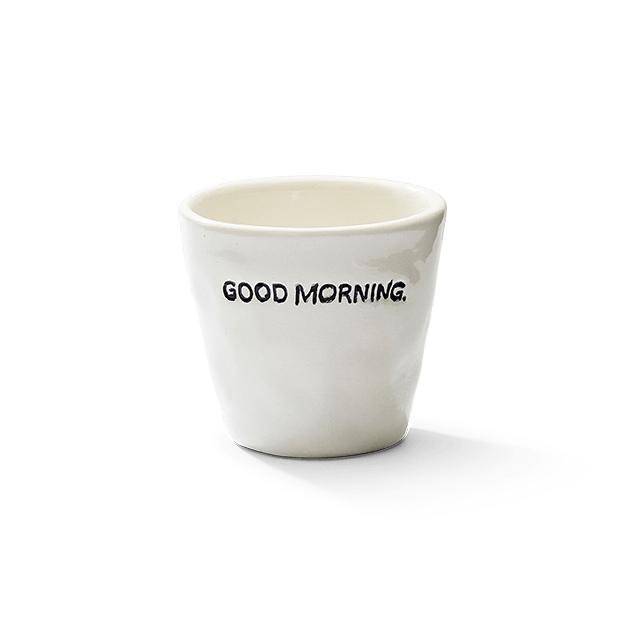 Espresso Cup Goodmorning