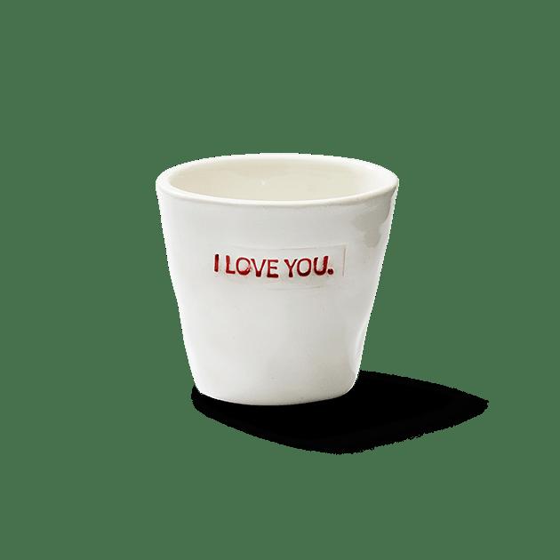 Espresso Cup I Love You