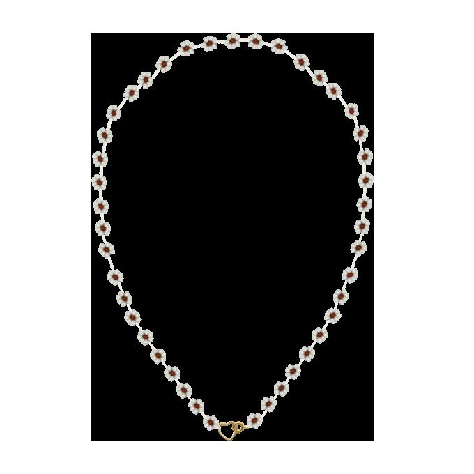 Fiori Necklace White