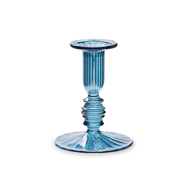 Ocean Glass Candle Holder