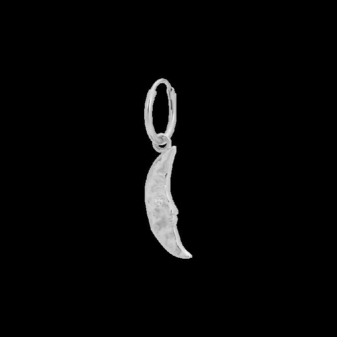 Single Wonderland Ring Earring Silver