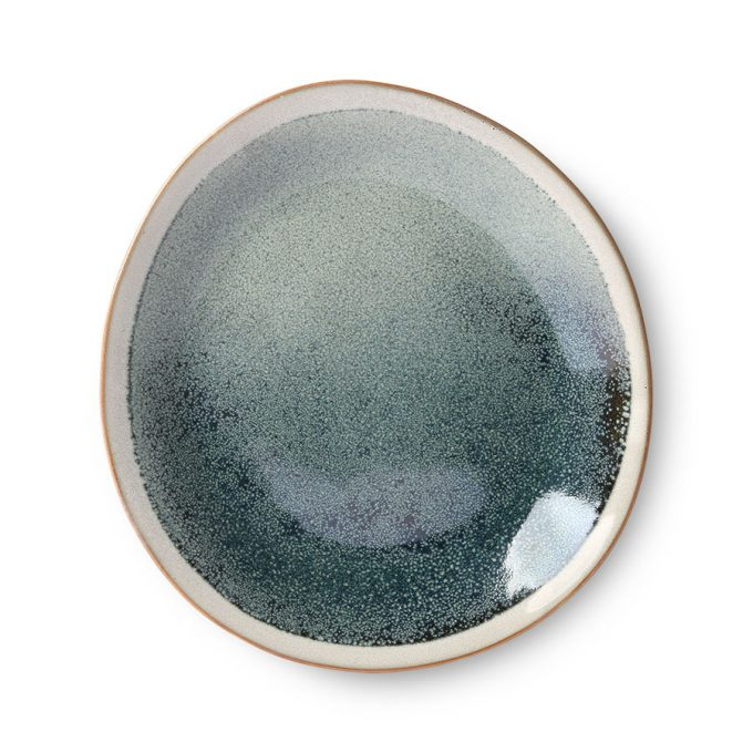 Ceramics 70's Side Plate - Mist