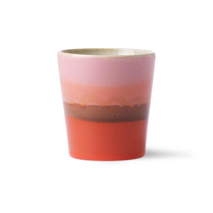 Ceramic 70's Mug - Mars