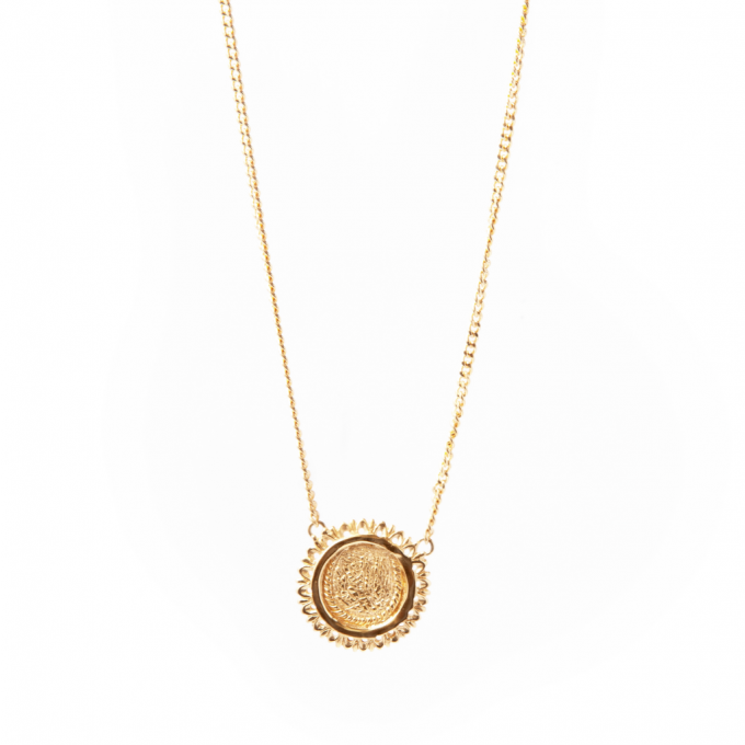 Amandine Necklace Goldplated