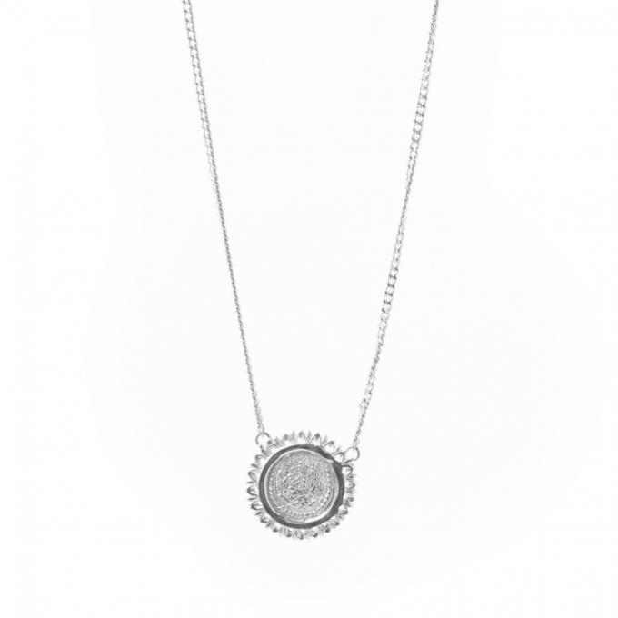 Amandine Necklace Silver