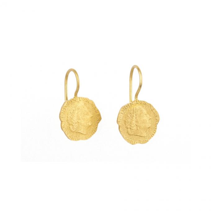 Ten Cent Earring Goldplated