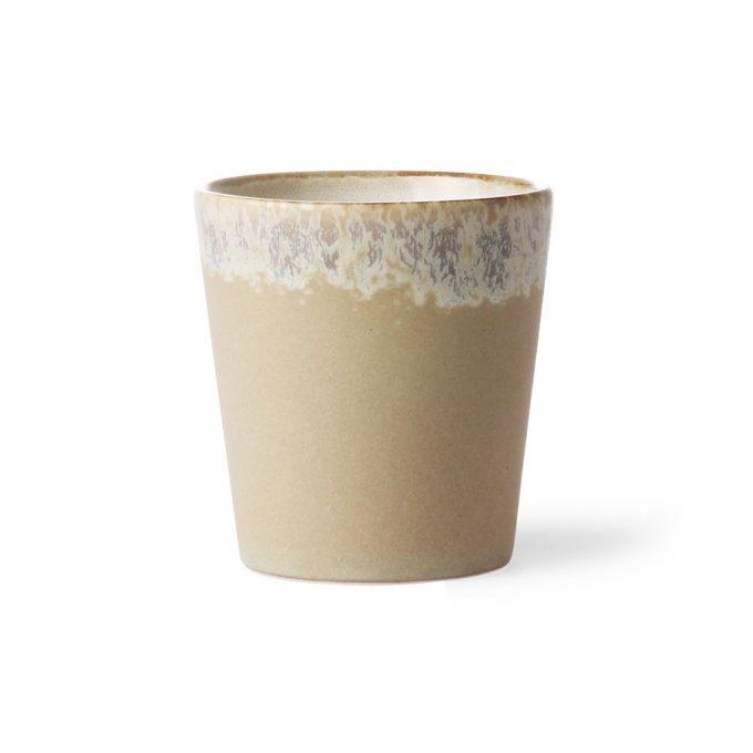 Ceramic 70's Mug - Bark