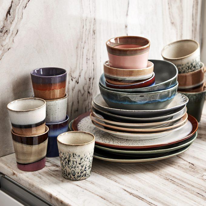 Home Chef Ceramics: Side Plate - Bark
