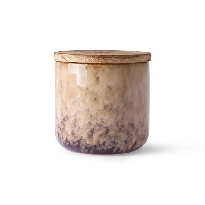 Ceramic Scented Candle: Casa Fruits