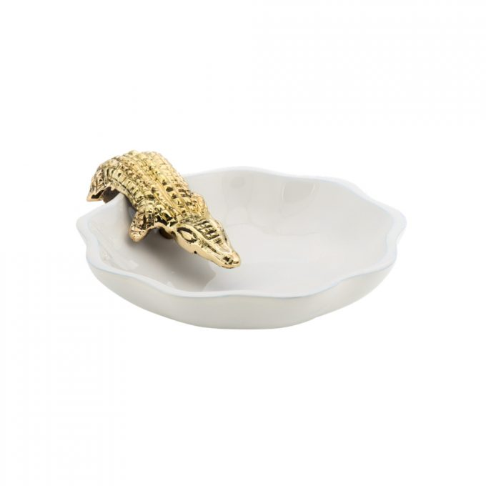 Trinket Dish Alligator