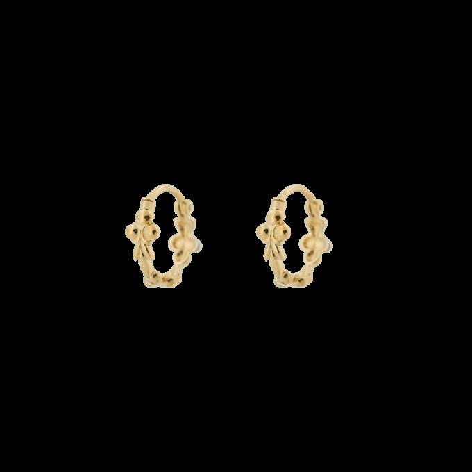 Eden Ring Earring Goldplated