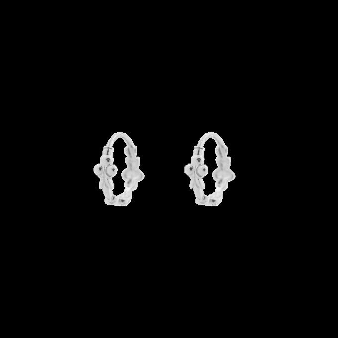 Eden Ring Earring Silver