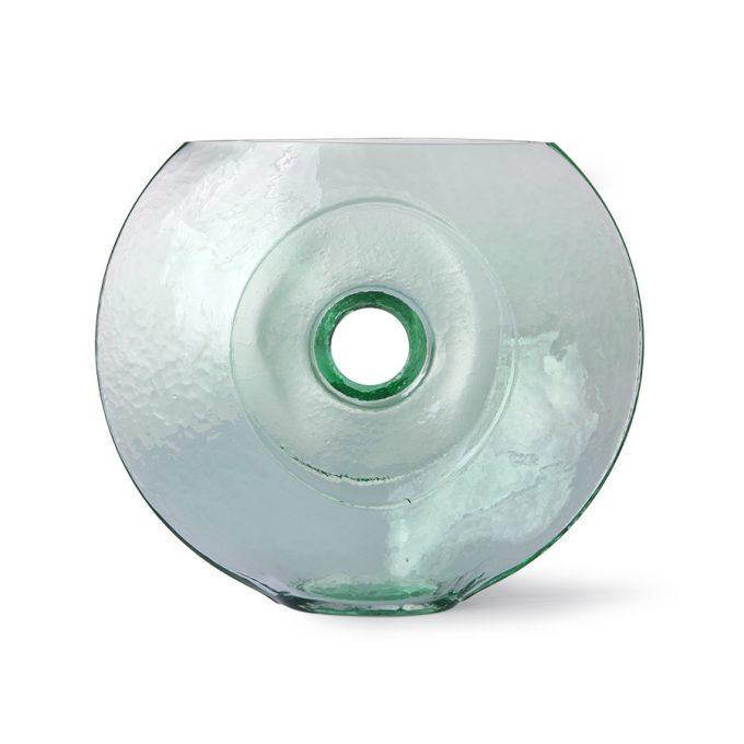 Glass Circle Vase