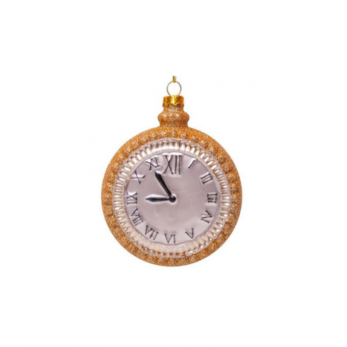 Gold Watch Ornament