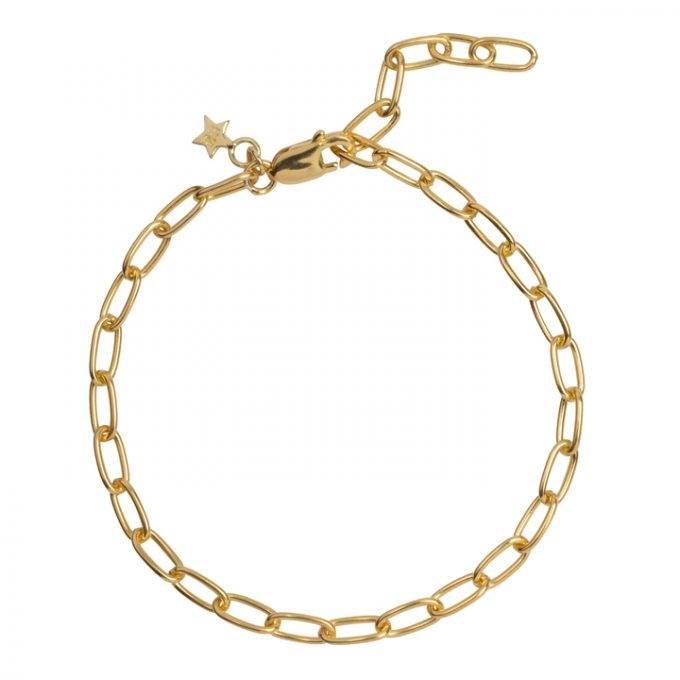 Big Chain Bracelet Goldplated