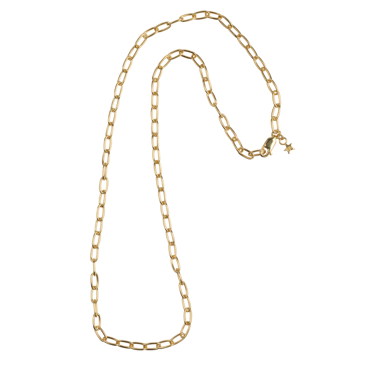 Big Chain Necklace Goldplated