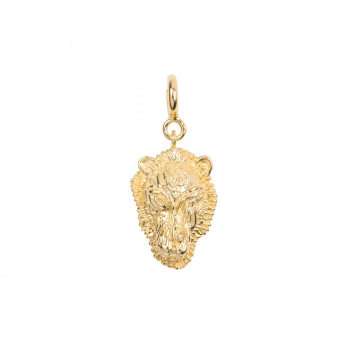 Lion Bead Goldplated