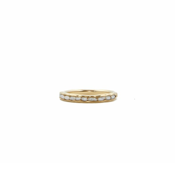 Mer Ring Goldplated