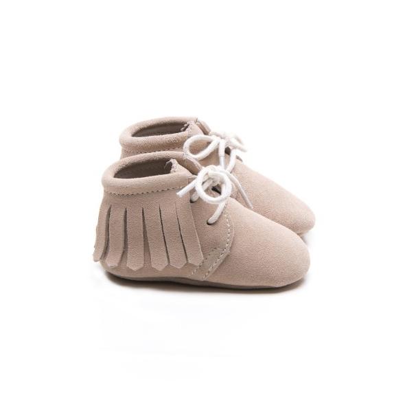 Mockies Boots Beige