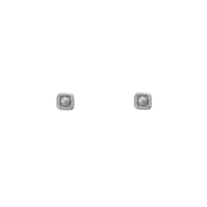 Vierkant Dot Silver