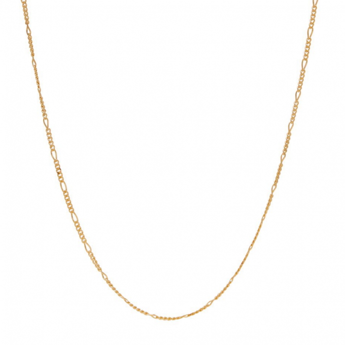 Figaro Necklace Goldplated